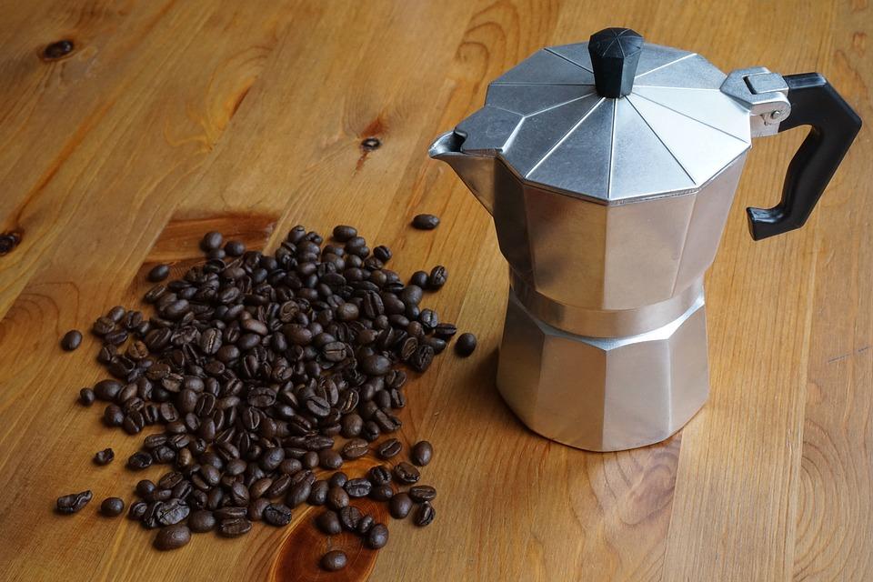 Praktyczna pamiątka z Włoch - kawiarka